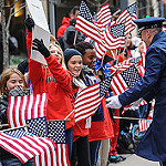 Veterans supported at parade